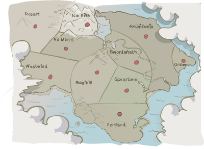 Inamorta original map