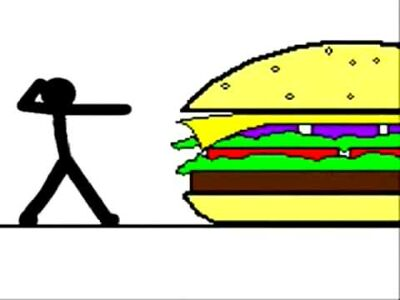 The Sandwich Stickman