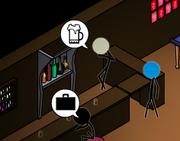 Shady Bartender