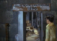 Troy enters lighthouse
