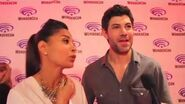 Stitchers Salli Richardson Whitfield & Damon Dayoub at WonderCon 2016