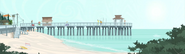 S1 E1 The pier at Surfers Beach