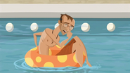 S1 E6 Mr Stevens chokes on the water