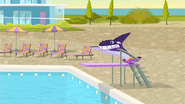 S1 E14 Wipeout makes it to the pool