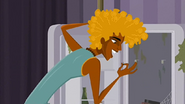 """S1 E16 Broseph has a look in the mini-fridge """"Hmm. Got a dead fly, brown stains, some white thing and some kind of cake"""""""