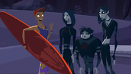 S2 E8 Reef bumps into the VIP guests