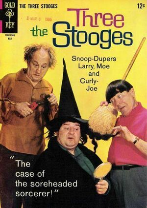 Three stooges issue 23