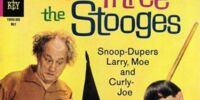 Three Stooges (Gold Key) Comic Issue 23