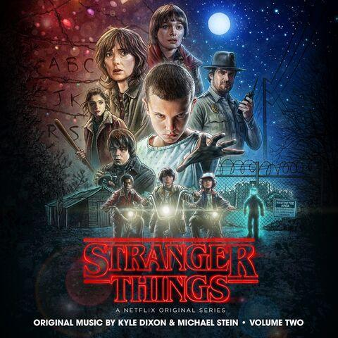 File:Stranger Things, Volume Two soundtrack.jpg