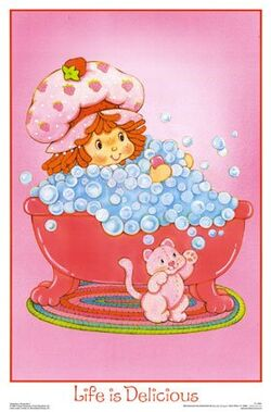Strawberry Shortcake Life is Delicious Poster