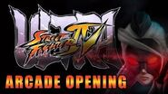 Ultra Street Fighter 4 - Arcade Opening