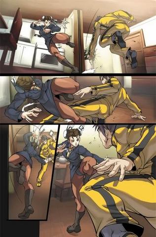 File:UDON Street Fighter Fei Long vs Chun-Li.png