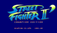 -CPS1- Street Fighter II - Champion Edition - NGBRT - Logo
