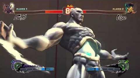 Super Street Fighter 4 - Seth Ultra 2 Tanden Typhoon