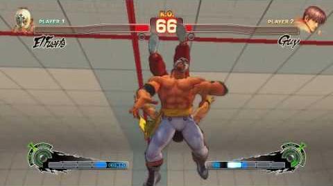 Super Street Fighter 4 - El Fuerte Ultra 1 El Fuerte Flying Giga Buster