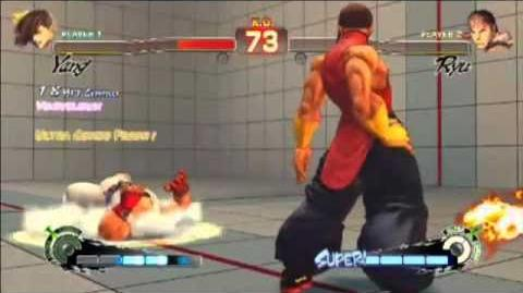 Yun and Yang's Ultras in Super Street Fighter 4