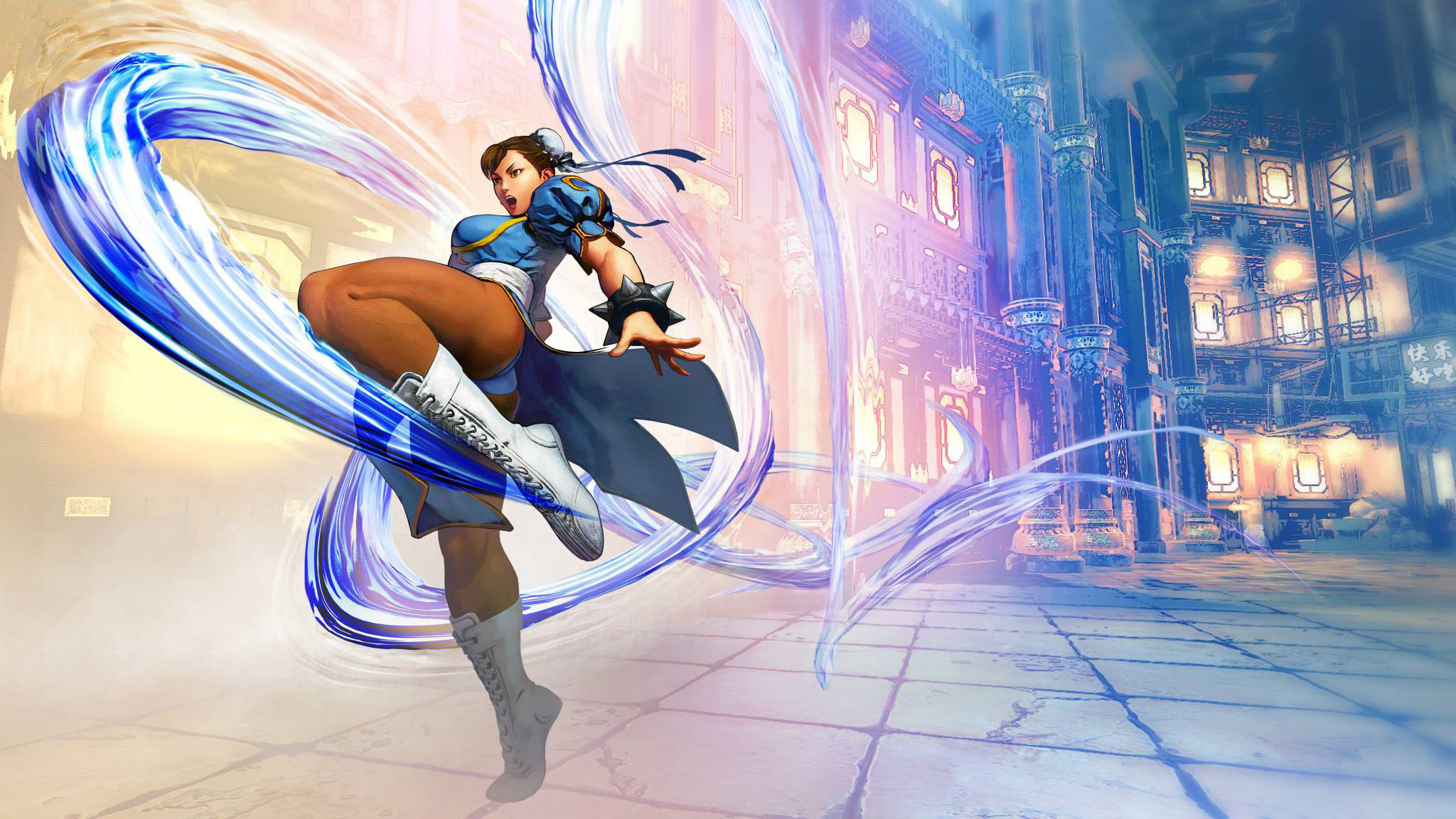 Street Fighter Capcom Video Game Duel Chun Li Womans Tank Sleep Shirt