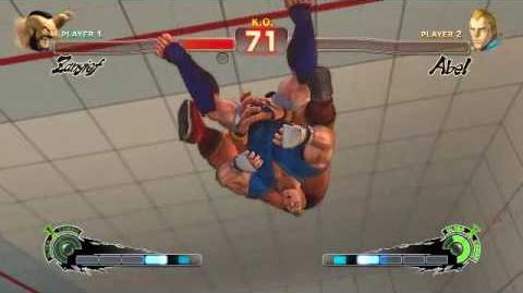 Super Street Fighter 4 - Zangief Ultra 1 Ultimate Atomic Buster