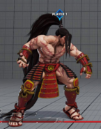 SFV Necalli CPT 2016 Hidden Costume Easter Egg