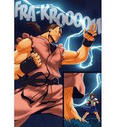 Street Fighter Udon Dan vs. Sakura