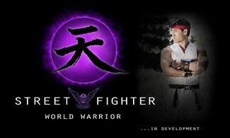 Street Fighter -- World Warior - early promotional picture