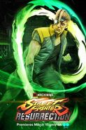 Charlie Nash in Street Fighter Resurrection Promo