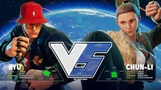 Street Fighter 5 Red Bull costumes for Ryu and Chun-Li