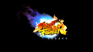 Street Fighter Legacy Logo by F 1