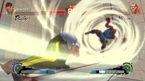 Super Street Fighter 4 - Dudley Ultra 2 Corkscrew Cross