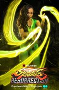 Laura in Street Fighter Resurrection Promo