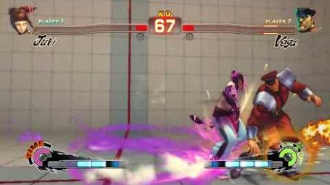 Super Street Fighter 4 - Juri Ultra 1 Feng Shui Engine