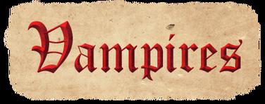Vampire Header