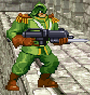 Fortress guard green