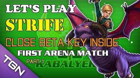 Let's Play Strife - Close Beta Key Inside (Claimed) - First Arena Match (Part 2)
