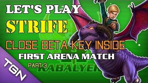 Let's Play Strife - Close Beta Key Inside (Claimed) - First Arena Match (Part 3)