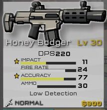 Normal Honey Badger