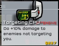 Targeting CPU