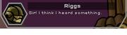 Riggs talks