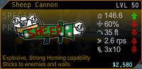 SFH2 Sheep Cannon
