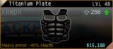 SFH2 Titanium Plate