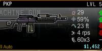 PKP Machine Gun