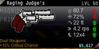 Raging Judge's Dual Wield Magnum
