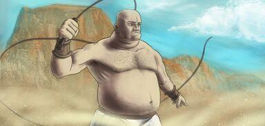 Slave driver art