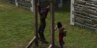 Flogging Post