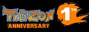 1th Tigzon ANNIVERSARY logo