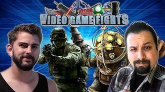 Best Video Game Twist! Rich VS Garrett - VIDEO GAME FIGHTS!