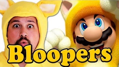 BLOOPERS SUPER MARIO 3D WORLD IN REAL LIFE