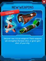 Announce vulcan-weapons