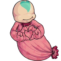Ghostly sweetheart
