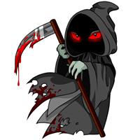 Harvester bloodred old